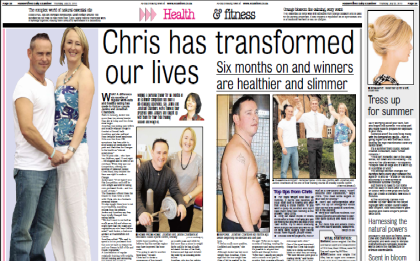 personal trainer chris ball transformed our lives