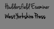 huddersfield examiner signature